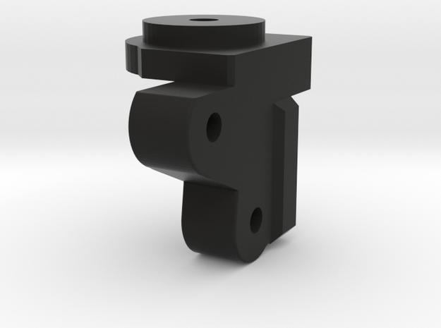 CMAX+SCX2 axle Front Left Coil Bucket in Black Natural Versatile Plastic