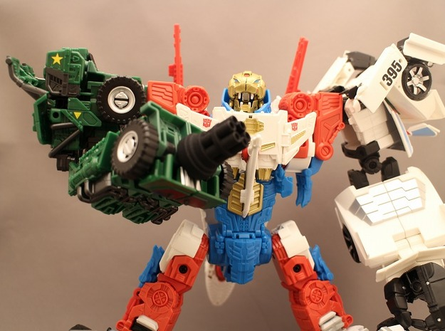 Gatring Gun for Combiner Wars