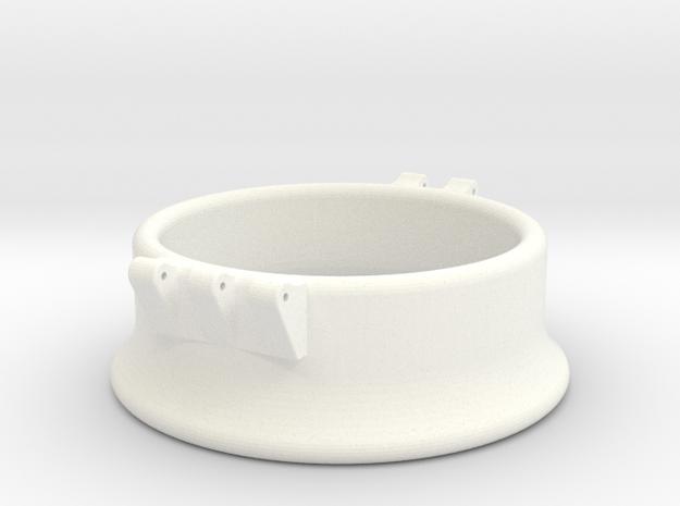 Ccage-bell 46-20 in White Processed Versatile Plastic