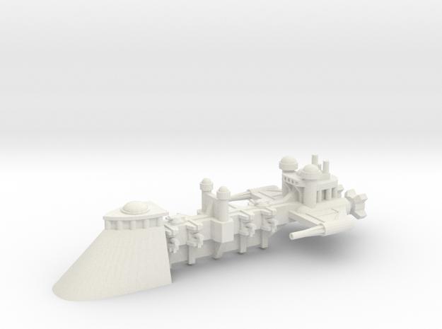 Sabre-Class Frigate in White Natural Versatile Plastic