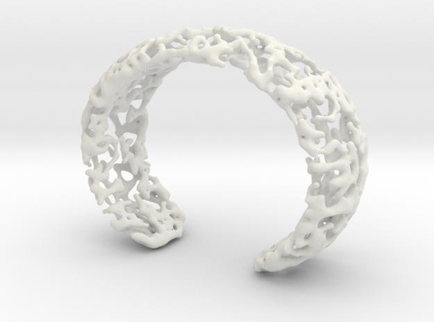 Bracelet K22h in White Strong & Flexible