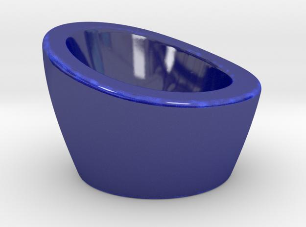 NEST Egg Cup in Gloss Cobalt Blue Porcelain