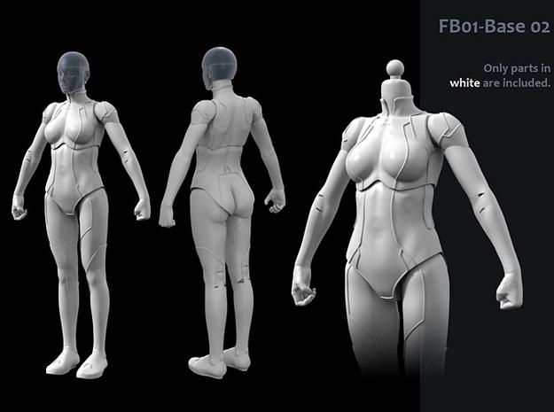 FB01-Base-02 7inch 3d printed