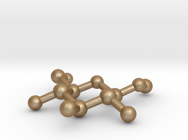 Methyl beta-D-glucopyranoside Molecule Necklace