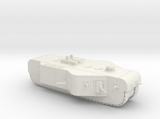 K-Wagen (15mm) in White Natural Versatile Plastic