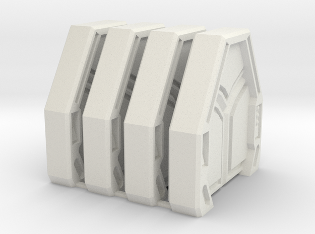 Star Wars: Imperial Assault Door Style 1 in White Strong & Flexible