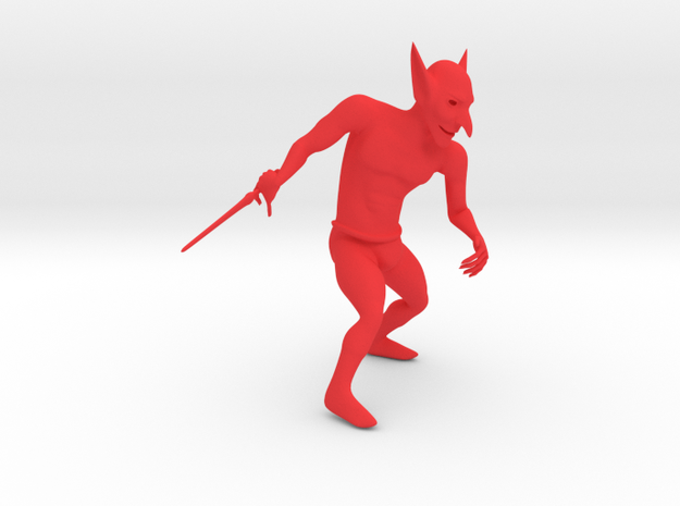 Goblin in Red Strong & Flexible Polished