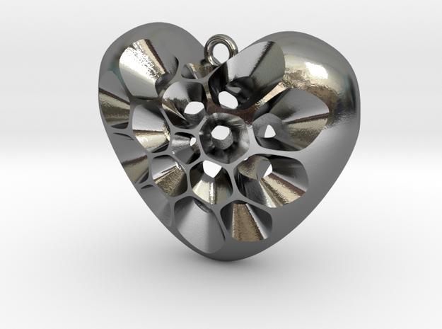 161121 Pollen Heart Pendant V02