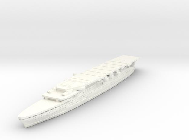1/1800 IJN Akagi 1927 v2 in White Processed Versatile Plastic