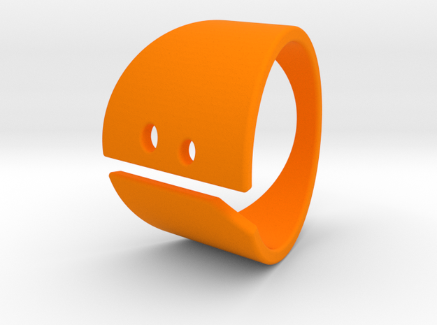 SAD! in Orange Strong & Flexible Polished
