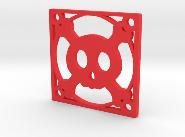 Fan Grille 30x30 Toxik in Red Processed Versatile Plastic