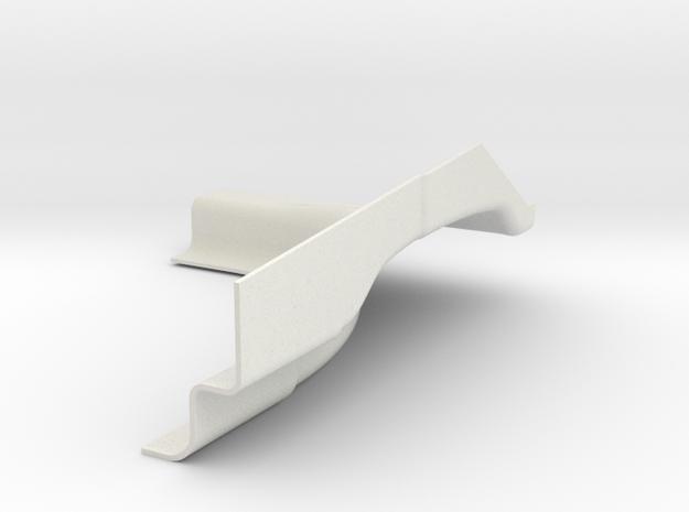 PASSENGER REAR FOR 3D PRINT v2 in White Natural Versatile Plastic
