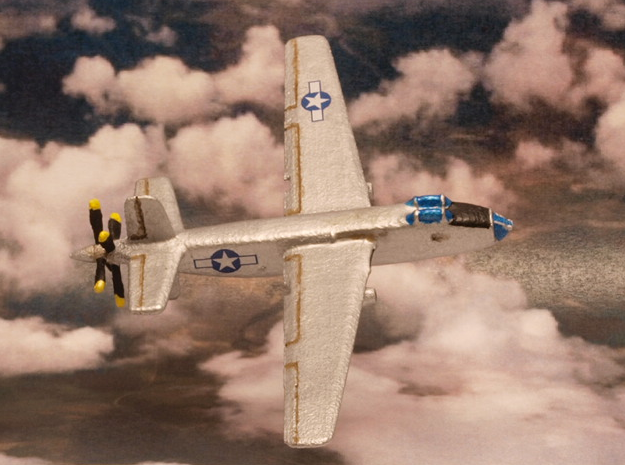 Douglas XB-42 Mixmaster pair (In Flight) 1/285 6mm in White Strong & Flexible