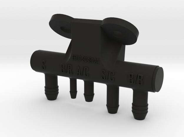 86-93 Mustang 5.0 Vacuum Tree in Black Natural Versatile Plastic