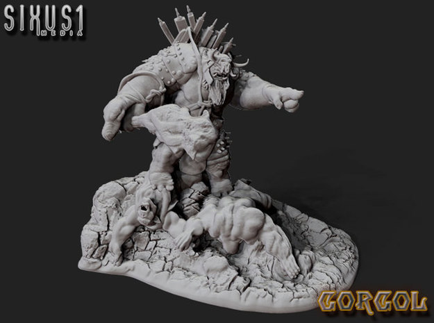 GorgolVictory in White Natural Versatile Plastic