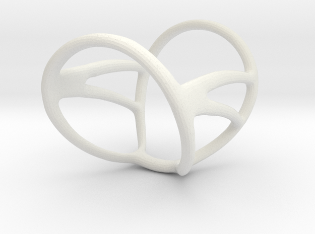 "Infinity Splint Sizes 9.3/4 to 11.3/4 Length 1.3"" in White Natural Versatile Plastic"