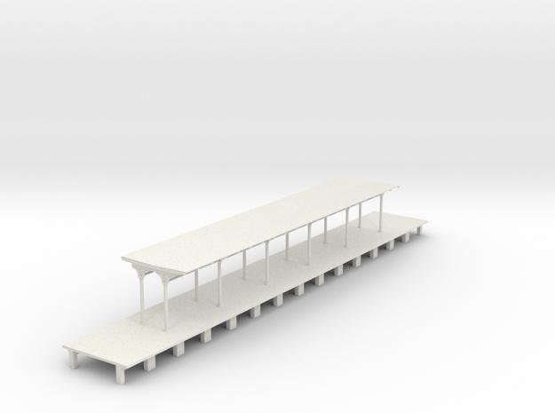 North Philly Platform in White Natural Versatile Plastic