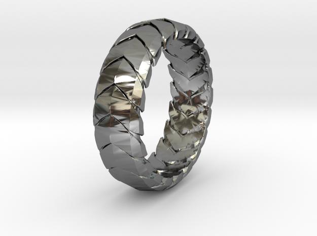 V RING 7  in Premium Silver: 9.5 / 60.25