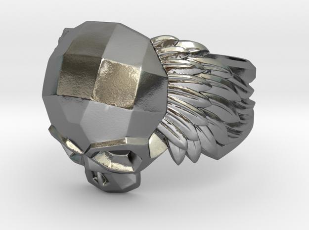 Winged Skull Ring