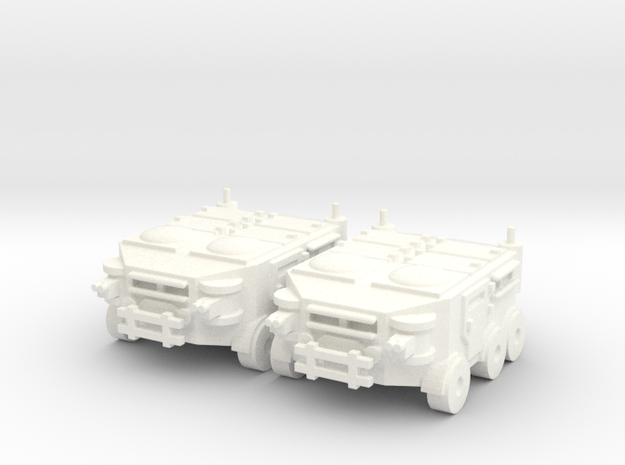 Wage Slave Apc - Greed Vs Humanity in White Strong & Flexible Polished