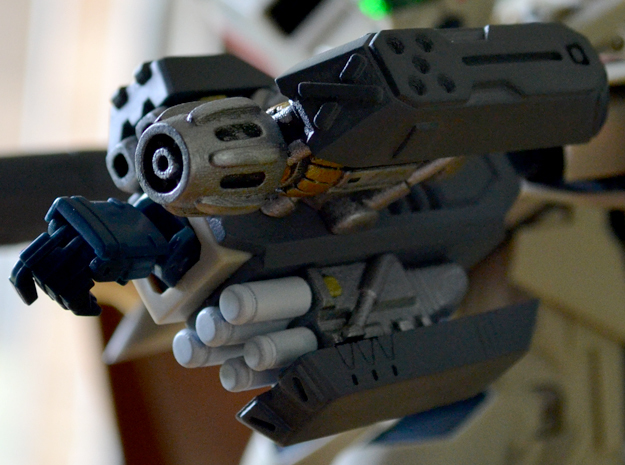 1/60 '19-Style Arm Cannon (Left) in Smooth Fine Detail Plastic