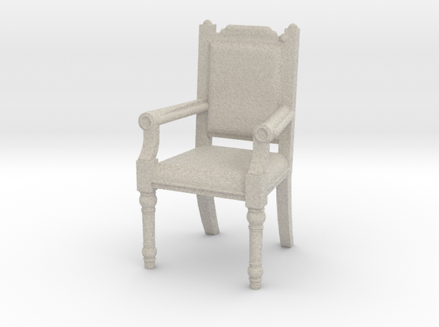 Fireplace chair in Sandstone: 1:10