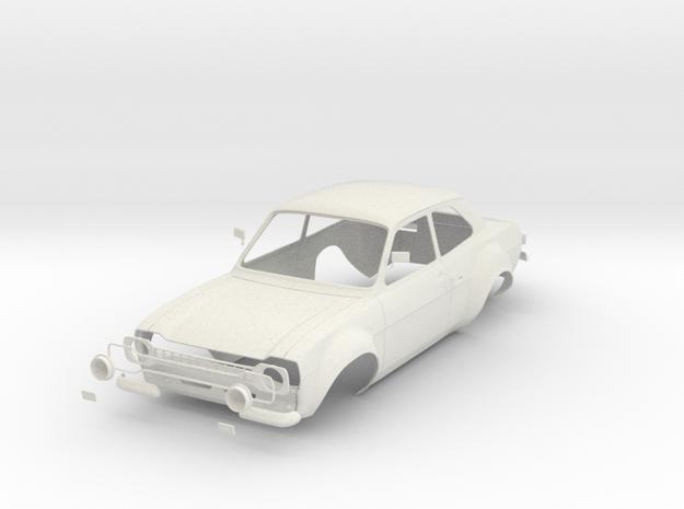 Ford Escord Mk1 scale 1/8