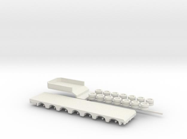 1:160/N-Scale 7 Axle Semitrailer