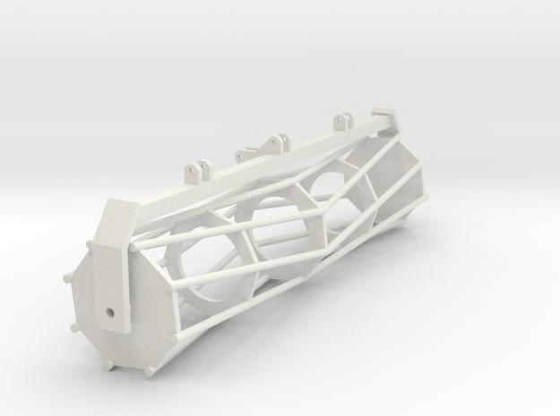 Tractor part 1 1:32 in White Natural Versatile Plastic
