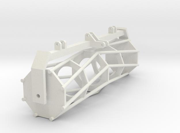 Tractor part 2 1:32 in White Natural Versatile Plastic