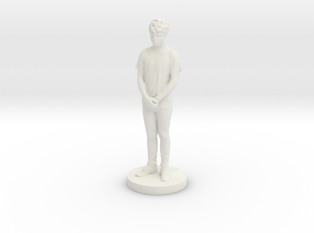 Printle C Homme 121 - 1/24 in White Natural Versatile Plastic