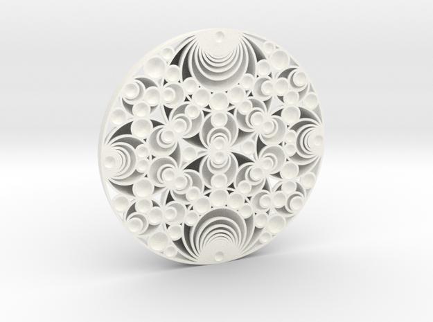 Gaussian Schmidt Arrangement in White Processed Versatile Plastic