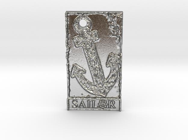 Celtic Anchor Sailor Pendant 1 by Gabrielle