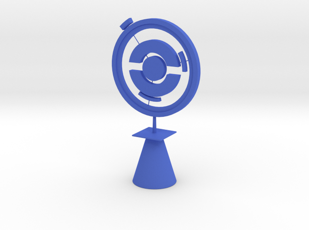 Pokestop Tree Topper in Blue Processed Versatile Plastic