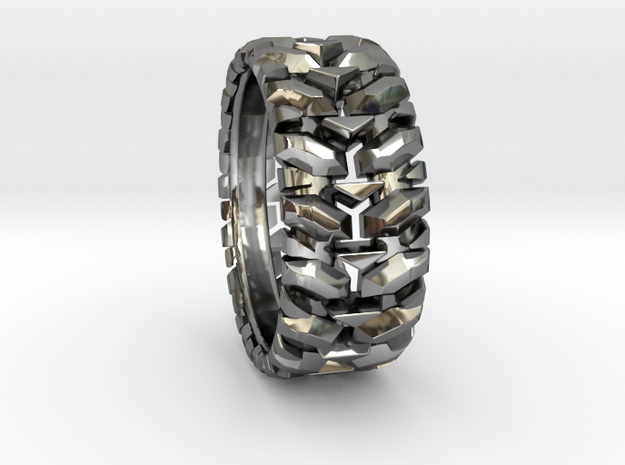 Knuckle Ring  in Premium Silver: 9 / 59