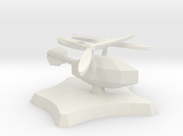 Wild Wind aircraft in White Natural Versatile Plastic