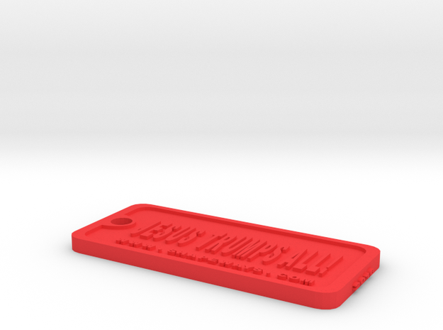 Tag-1-vc in Red Processed Versatile Plastic