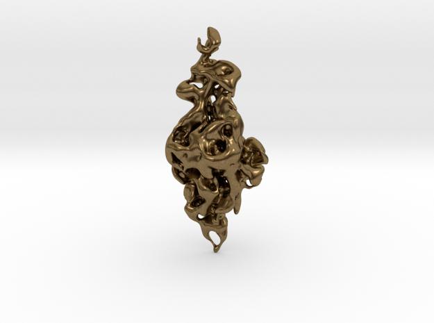 Emerging Venus of Lespugue 1:3 in Raw Bronze