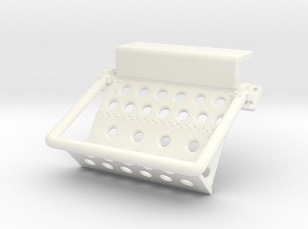 Sea King Rear Door Steps 3d printed