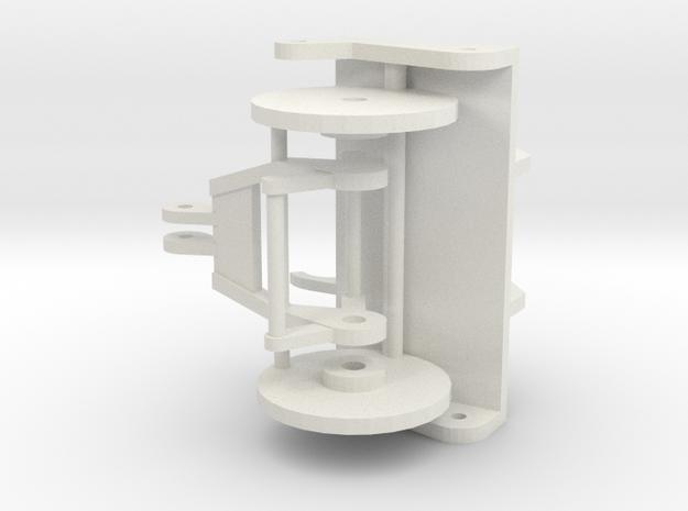 Ac1600 Jib Reeving Set in White Natural Versatile Plastic