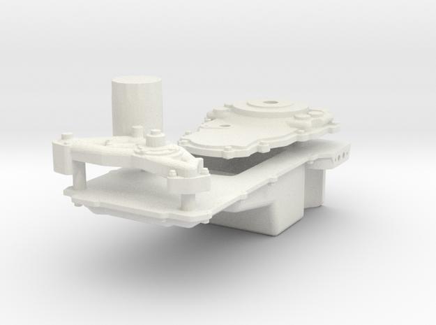 Ls3 Oil Pan 1/12 in White Natural Versatile Plastic