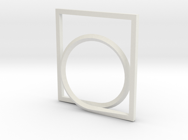 Rectangle and Circle ring