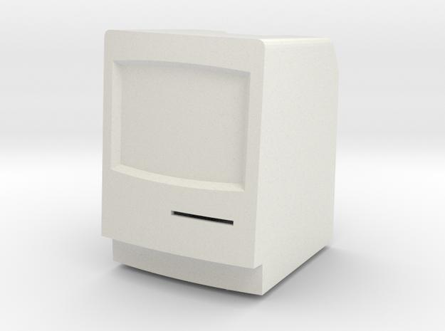Macintosh Classic II LED Tea Light Holder in White Strong & Flexible