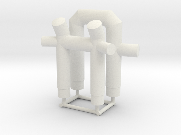 STANTUG 2208 - Towing Bits (2pcs) in White Natural Versatile Plastic