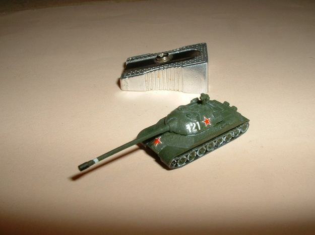 IS-7 Heavy Tank Set of 4 1/285 6mm 3d printed