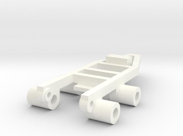 Tile Stringer Frame in White Strong & Flexible Polished