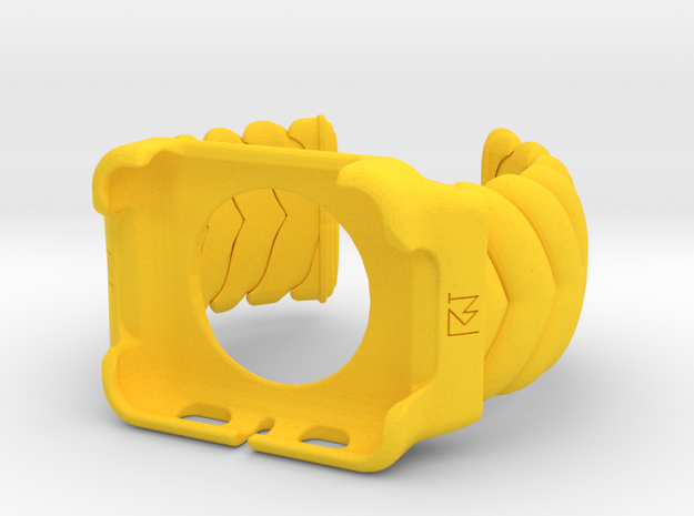 V CUFF  Small Iwatch 42mm Case  in Yellow Processed Versatile Plastic