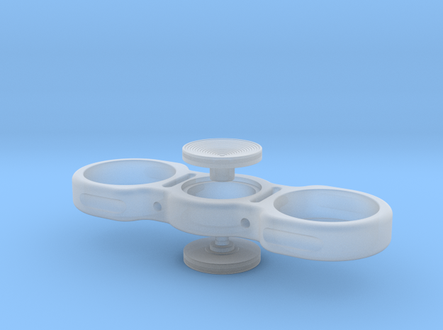 25 Sentimo Spinner with Buttons in Smooth Fine Detail Plastic