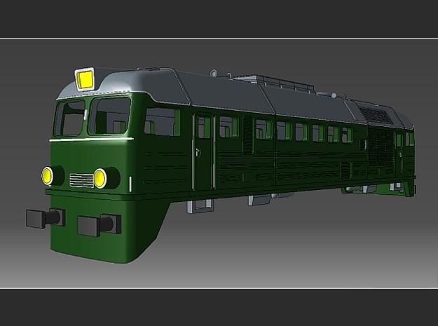 """1:220 - ST 44  PKP  """"Gagarin"""" Spur Z Gehäuse in Smooth Fine Detail Plastic"""