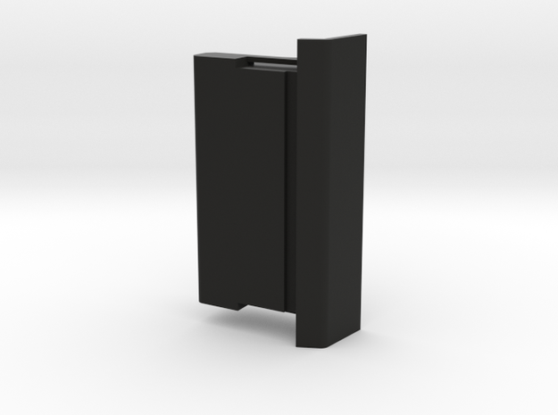 HP-75C/D Port Cover in Black Natural Versatile Plastic